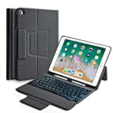 Best Ipad Air Case With Keyboard Bluetooth Backlits - Keyboard Case Compatible with 2018 6th /2017 5th Review