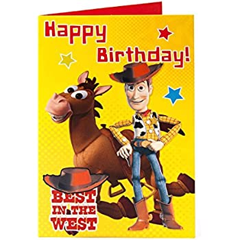 Amazon Disney Toy Story Bullseye Woody Best In The West Happy