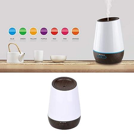 Difusor de Aceite Esencial de Aroma con 7 Colores LED 500ML ...