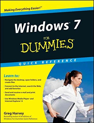 Read Online Windows 7 for Dummies Quick Reference pdf epub