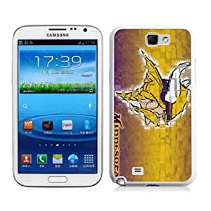 Victor Sports NFL Minnesota Vikings Samsung Galaxy Note 2 Case for Sports Fans-Chritmas Gift, Samsung Galaxy Note 2 Hard Cover