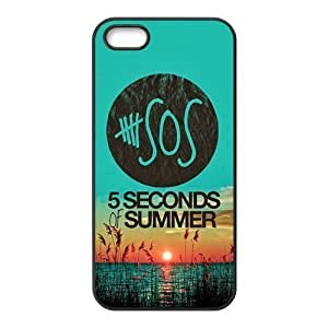 Custom 5 SOS Durable Protector Snap On Cover Case for iPhone 5 5s TPU Kimberly Kurzendoerfer