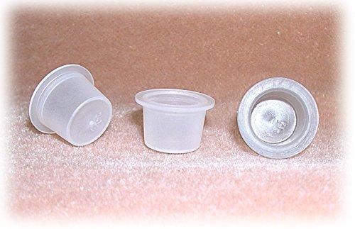 White Translucent Plastic Plug fits a 9/16 Inch Hole (Pkg/144) by National Artcraft