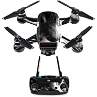 Skin for DJI Spark Mini Drone Combo - Cat| MightySkins Protective, Durable, and Unique Vinyl Decal wrap cover | Easy To Apply, Remove, and Change Styles | Made in the USA