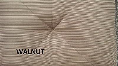 "Palm Tree Outdoor Patio Set 4pc Swivel Barstools 30"" H Dark Bronze Cast Aluminum, Walnut Cushions"