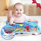 Eyefed Baby Inflatable Patted Pad - Baby Inflatable Water Cushion Inflatable Water Filled Play Mat - Prostrate Water Cushion Pat Pad