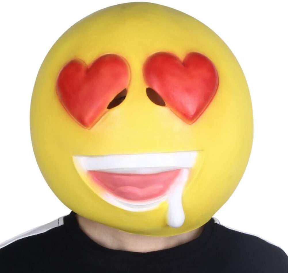 AAWFUL Novedad para Adultos Emoji Emoticon Cabeza De Mascota ...