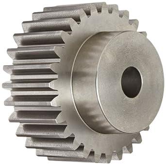 Boston Gear Spur Gear, Cast Iron, Inch, 5 Pitch