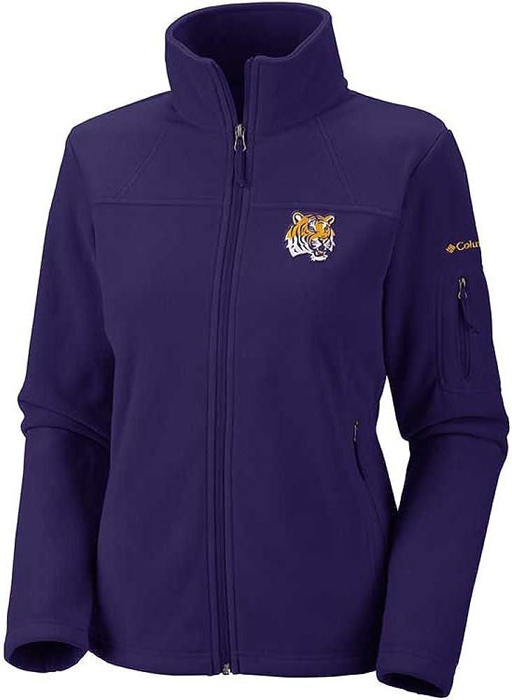 NCAA LSU Tigers Collegiate Flanker II Full Zip Fleece Jacket