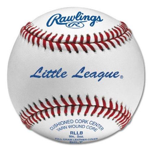 Rawlings Rawlings RLLB Little League Baseballs - 1 Dozen, White, ()