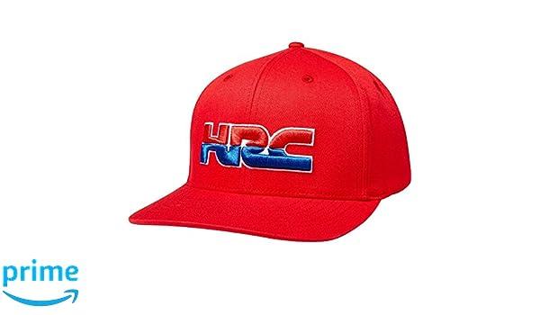 bb2b14f50f594 Fox Racing HRC Redplate Pro Flexfit Hat-L XL at Amazon Men s Clothing store