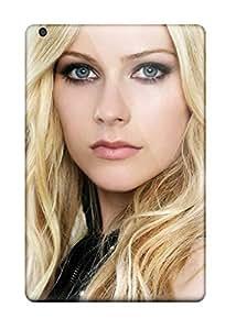 High Grade Matt L Morrow Flexible Tpu Case For Ipad Mini/mini 2 - Avril Lavigne Black Star
