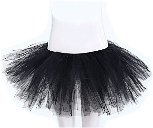 Party Train Women's Adult Tulle Tutu Ballet Dance Fluffy Skirt Assorted Colors