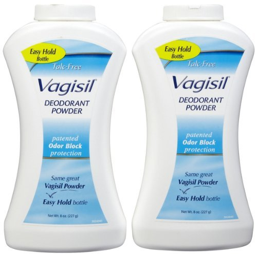 - Vagisil Feminine Deodorant Powder, 2 pk