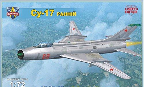 Early Version Fighter (SUKHOI SU-17 SOVIET FIGHTER-BOMBER, EARLY VERSION 1/72 MODELSVIT 72017)