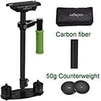 IMORDEN Carbon Fiber S-60c Video Handheld Camera Stabilizer Movie Kit Film Making System for Canon, Sony, Nikon, Pentax, Panasonic, Fujifilm, Olympus DSLR Camera(2~6lbs) w/ Quick Release Plate