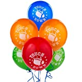 Football Latex Balloons Party Accessory