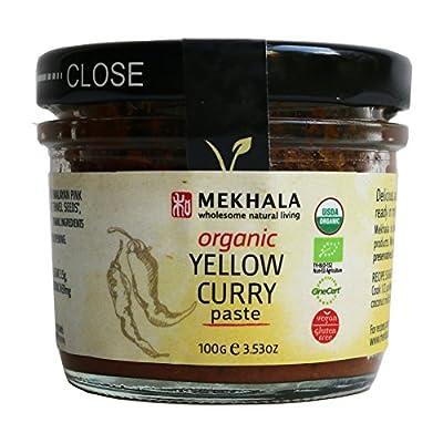 Mekhala Organic Gluten Free Thai Yellow Curry Paste 3.53oz by Mekhala Living