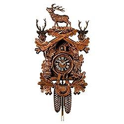 Cuckoo Clock Hunting Clock, standing Deer