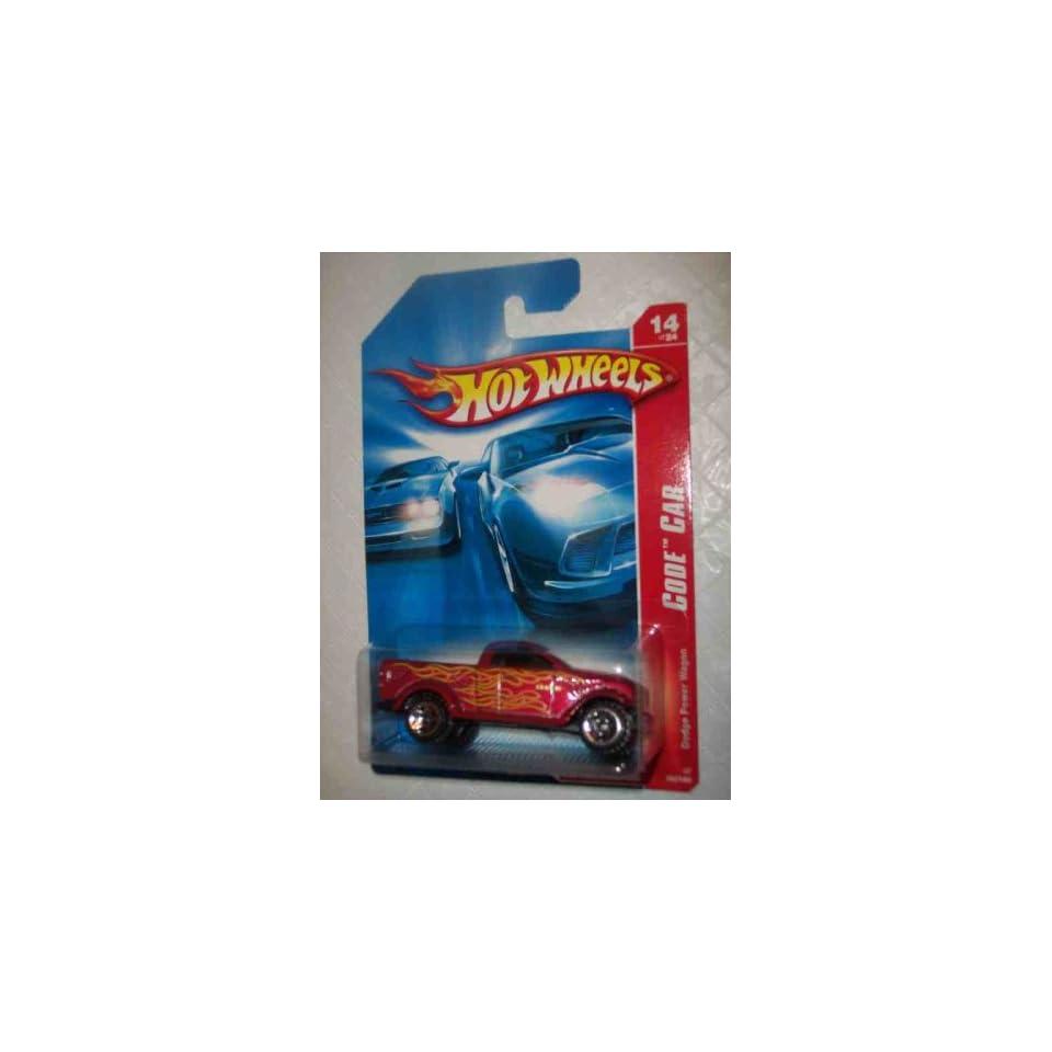Code Car Series  #14 Dodge Power Wagon #2007 98 Collectible Collector Car Mattel Hot Wheels