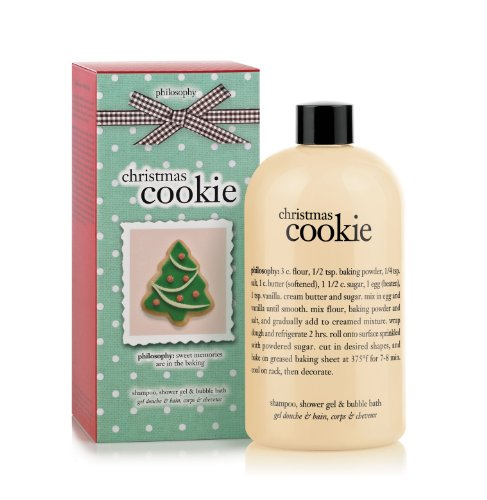 Philosophy Christmas Cookie Gel, 16 Ounce Review