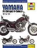 Yamaha XV (Virago) V-Twins '81 to '03 (Haynes Service & Repair Manual)