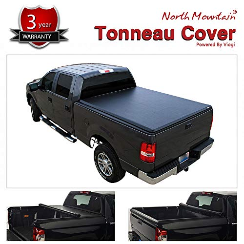 Mgpro 1pcs Lock & Roll Up Soft Tonneau Cover Truck Bed For 2017-now Honda Ridgeline
