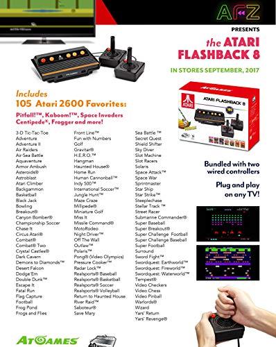 SHOPUS   Atari Flashback 8 Console with 105 Games + My