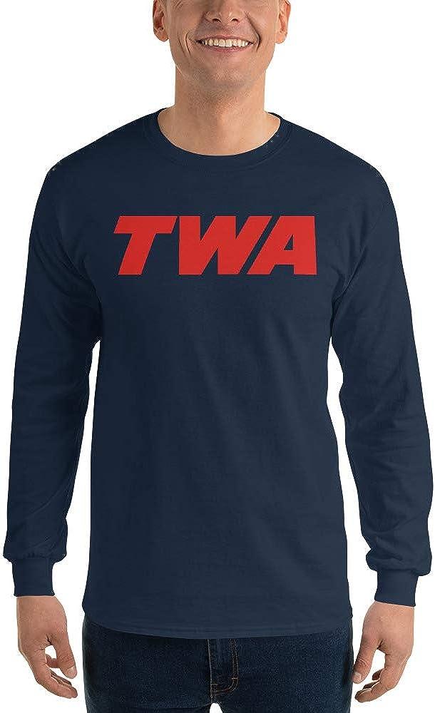Trans World Airlines TWA Mens Long Sleeve T-Shirt