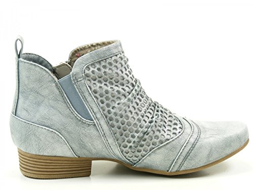 Ankle 504 1176 203 Blau Boots Womens Mustang B1wInqPB