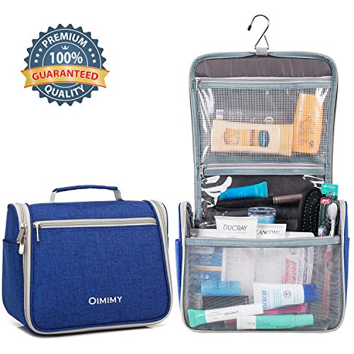 Travel Toiletry Bag Hanging Bathroom Cosmetic Organizer Bag for Women Men Waterproof