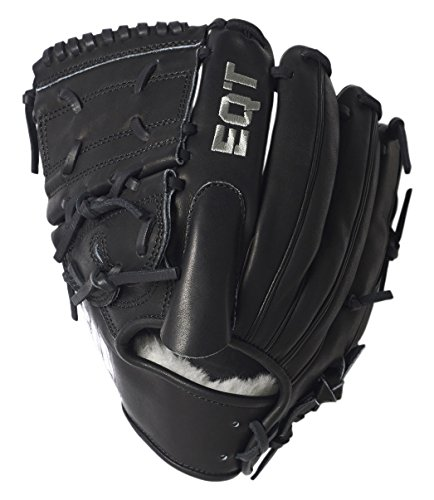 adidas Performance Baseball Pitcher Fielding Glove, Black/Wh