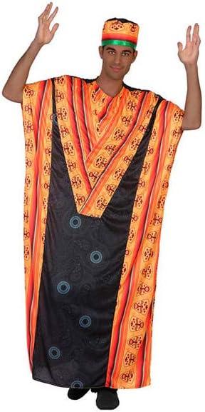DISBACANAL Disfraz Africano para Hombre - -, M-L