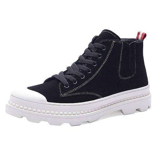 Doc Marten Boots Hombres Botas Adultos Lamper Boots Botines De Cuero Clásicos útiles para Estudiantes Chelsea Botas Desierto High-Top: Amazon.es: Zapatos y ...