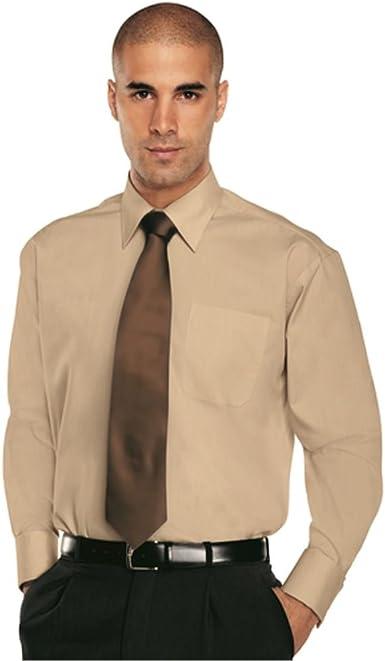 Simon Jersey - Camisa formal - Clásico - para hombre beige ...