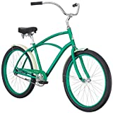 Raleigh Bikes Men's Retroglide Cruiser Bike, Green For Sale