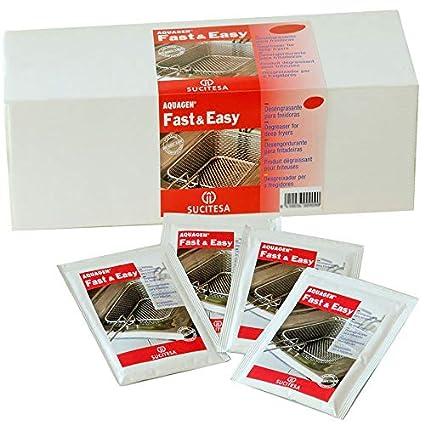 Desengrasante para freidoras industriales en sobres. Pack 24 ...