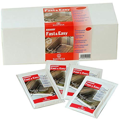 Desengrasante para freidoras industriales en sobres. Pack 24 monodosis: Amazon.es: Bricolaje y herramientas