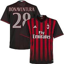 AC Milan Home Bonaventura Jersey 2016 / 2017 (Fan Style Printing)