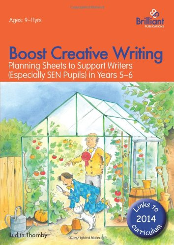 Boost Creative Writing-Planning Sheets to Support Writers (Especially Sen Pupils) in Years 5-6