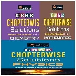 CBSE Chapterwise Solutions Chemistry, Mathematics and Physics for Class 12 (Set of 3 Books) price comparison at Flipkart, Amazon, Crossword, Uread, Bookadda, Landmark, Homeshop18