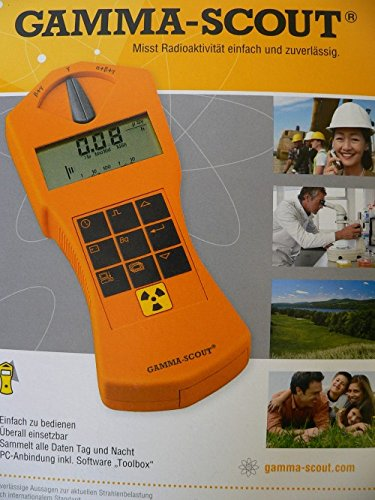 Geiger Counter Gamma-Scout Standard Version - Hand Held ...
