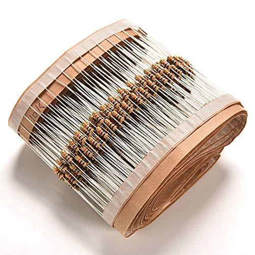 FidgetGear 100x Resistors 10K Ohms OHM 1/4W 5% Watts Power ±5% Carbon Film JG