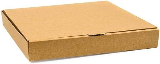 Paquete de: 100 Caja pizza Fiesta kraft 30cm: Amazon.es: Hogar