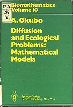 Descargar Novelas Bittorrent Diffusion And Ecological Problems: Mathematical Models Libro PDF