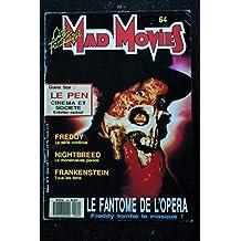 Ciné Fantastique MAD MOVIES n° 64 * 1990 * FREDDY FRANKENSTEIN NIGHTBREED Jean-Marie LE PEN