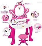 WolVol 2-in-1 Vanity Set Girls Toy Makeup