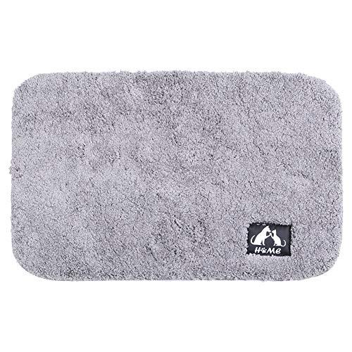 Vloermat Comfortabel antislip tapijt Keuken(Cake Velvet-Gray, 50 * 80CM)