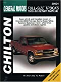 Chevrolet Pick-Ups, 1988-1998, NP-Chilton Editors, 0801991021