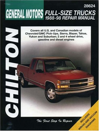 Motor Truck (General Motors Full-Size Trucks, 1988-98, Repair Manual (Chilton Automotive Books))